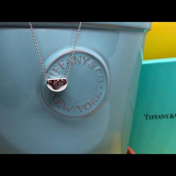 Tiffany & Co. Jewelry - Tiffany & Co Elsa Peretti Bean Necklace Pendant